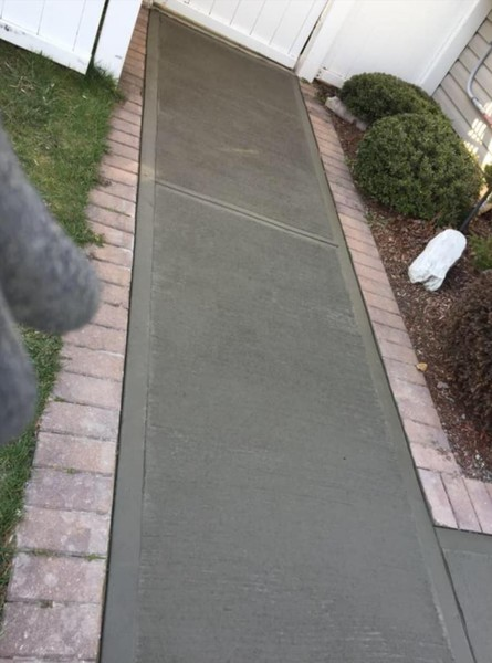 Sidewalk Installation in Saddle Brook, NJ (1)