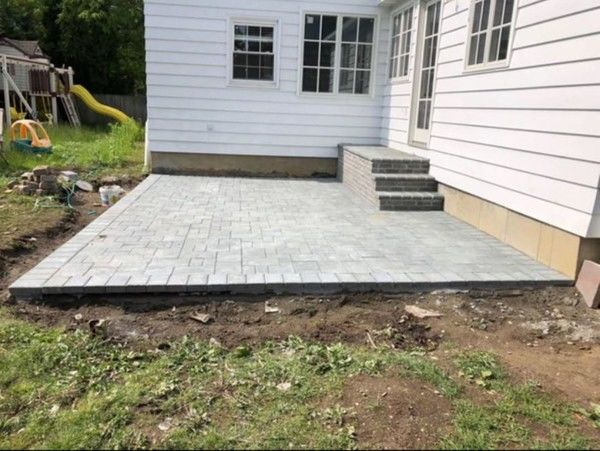 Patio Installation in Saddle Brook, NJ (1)