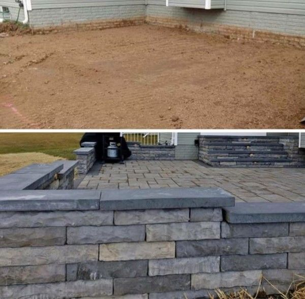 Before & After Patio Installation in Fairlawn, NJ (1)