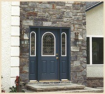 Stone Work for Front Entry