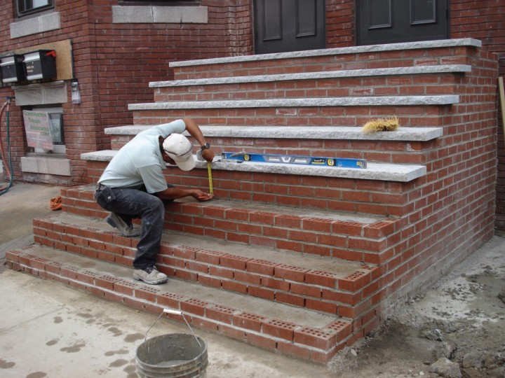Photos by bmf masonry for New house construction steps