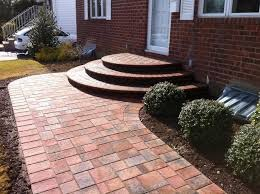 Walkway Installed by BMF Masonry
