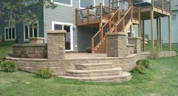 Beautiful Patios Completed by BMF Masonry