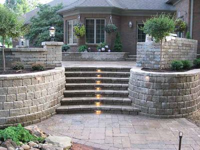Saddle Brook Area Elegant Entryway Steps by BMF Masonry