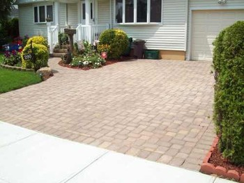 Brick Paver Driveway in Saddle Brook, NJ