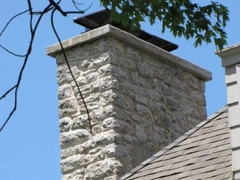 Beautiful Stone Chimney in Little Falls, NJ (1)