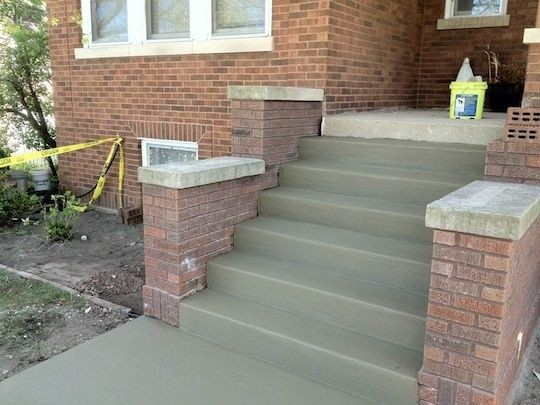 Cement Steps in Bergenfield, NJ (1)