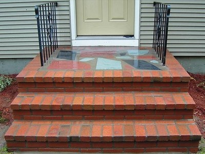 Brick Steps in Fair Lawn, NJ (1)